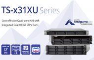 QNAP Launches Cost-efficient TS-x31XU Series Rackmount NAS