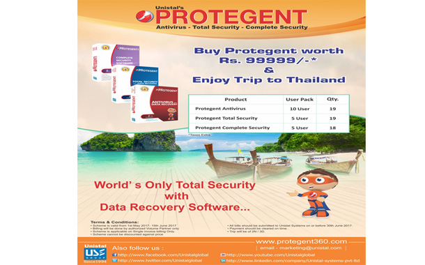 Enjoy 3 Days/2 Nights Trip to Thailand With Unistal's Protegent