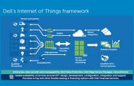 Dell helping 'Future Proof' customers with IoT Technology